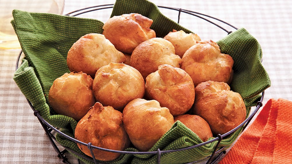 Brie Biscuit Poppers