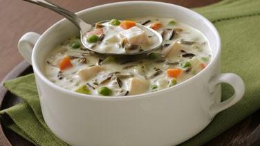 North Woods Wild Rice Soup