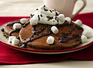 Hot&#32;Chocolate&#32;Pancakes