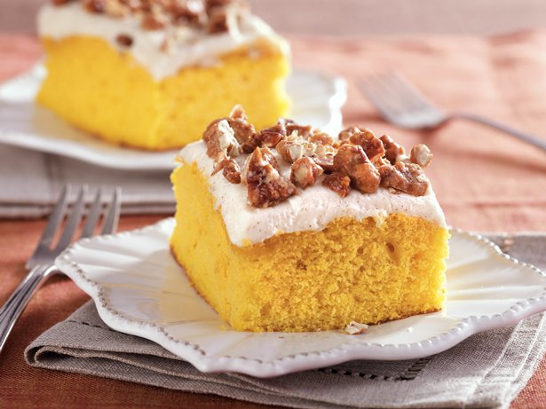 Pumpkin Snack Cake