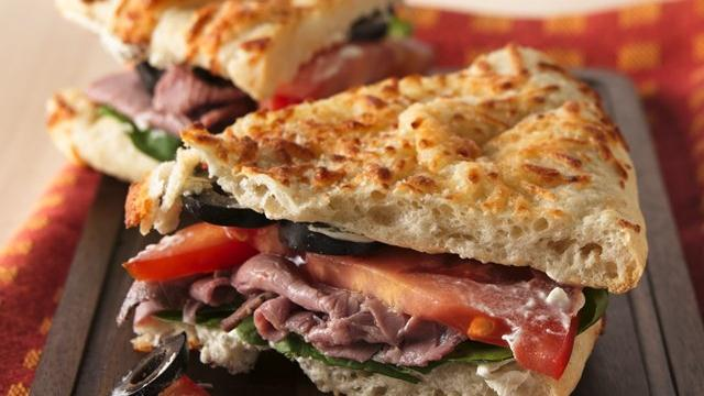 Roast Beef Panini