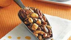 Sweet and Spicy Pumpkin Seed Nut Mix Recipe