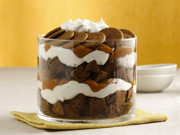 Holiday Pumpkin-Gingerbread Trifle
