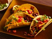 Easy Mole Tacos