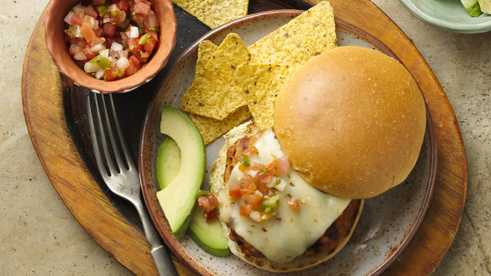 Southwest Ranch Turkey Burgers