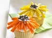 Flower-Power Cupcakes