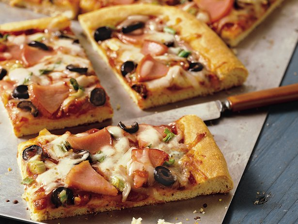 Thick-Crust Pizza