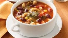Two-Bean Minestrone Recipe