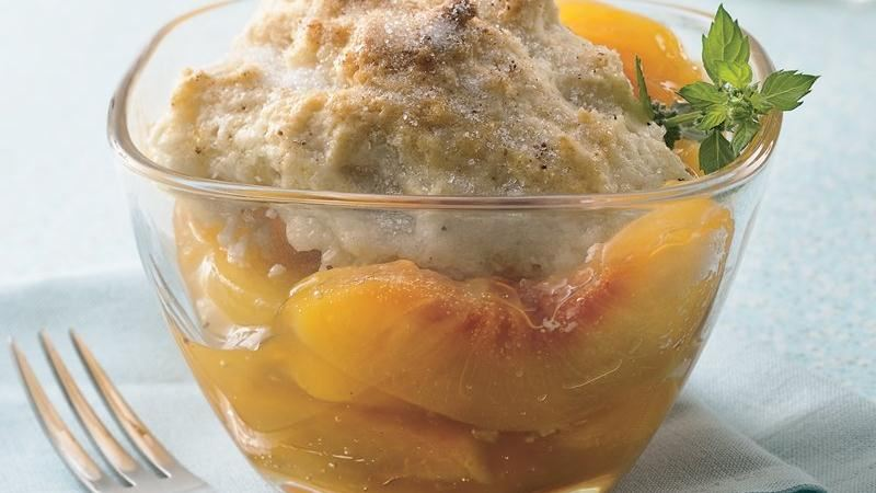 Slow Cooker Peach Cobbler Recipe From Betty Crocker | Party ...