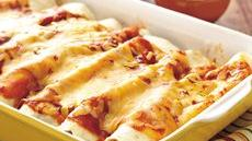 Spinach and Beef Enchiladas Recipe