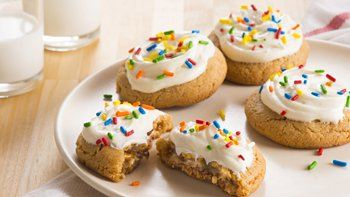 Candy Surprise Peanut Butter Cookies