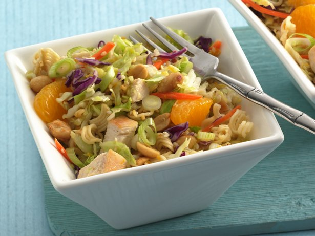 Crunchy Oriental Chicken Salad