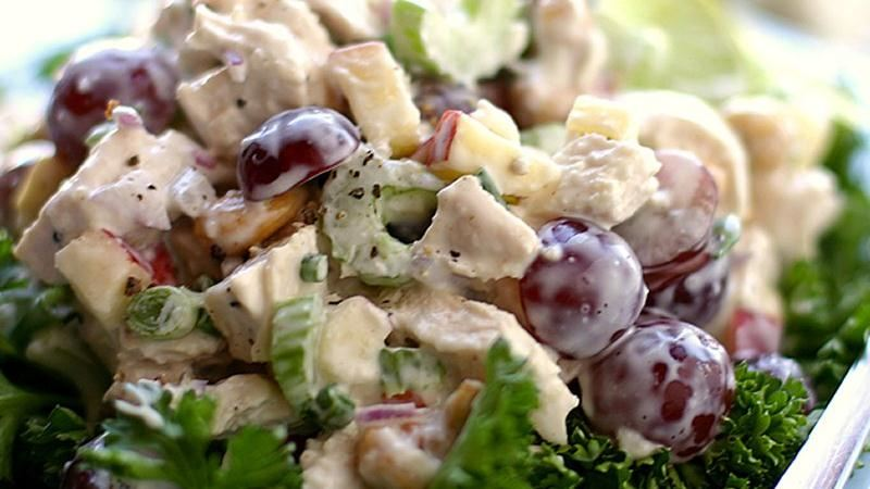 Chicken Salad with Grapes, Cashews, Apples and Fresh Dill recipe from ...