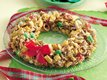 Festive Chex Mix Wreath