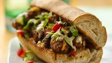 Toasted Mexi-Meatball Hoagies Recipe