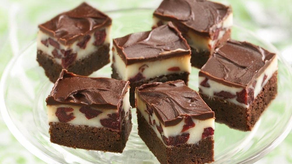 Triple-Layered Brownies