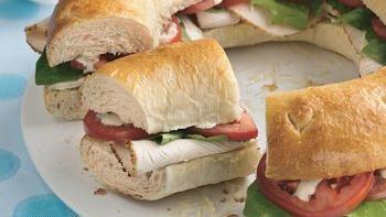 Chicken Caesar Sandwich Ring