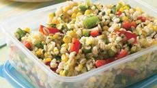 Barley, Corn and Pepper Salad Recipe