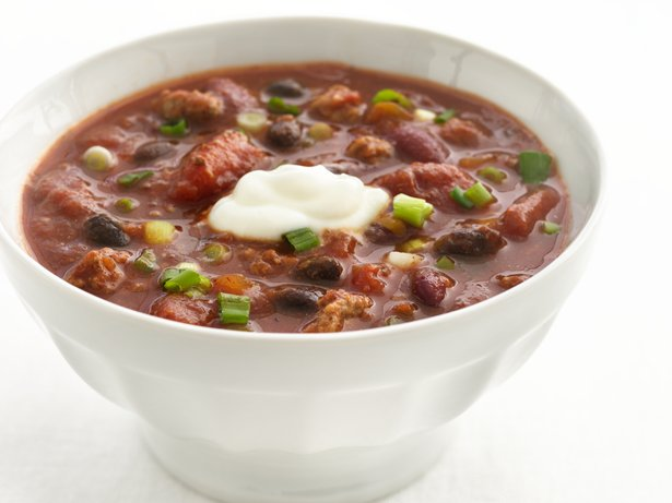 Healthified Salsa-Beef Chili