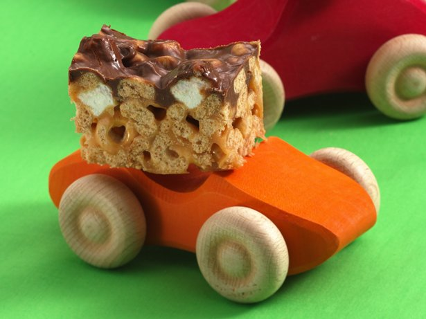 PB-Chocolate Bars on Cars