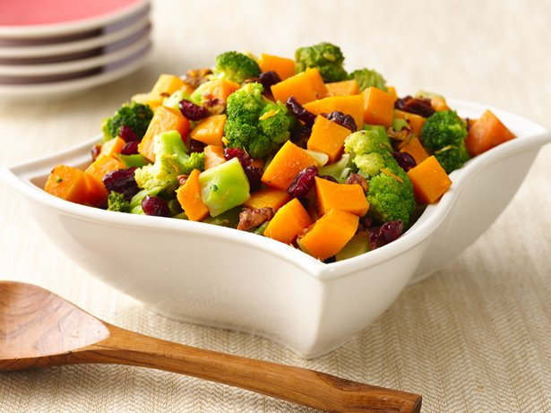Gluten Free Broccoli and Squash Medley