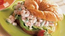 Seafood Cucumber Sandwiches Recipe