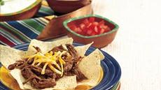 Slow Cooker Shredded Beef Nachos Recipe