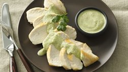 Gluten-Free Chicken with Creamy Chimichurri