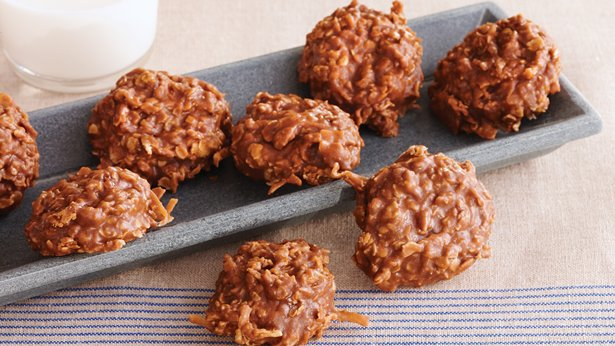 these easy no bake cookies featuring oatmeal cocoa and coconut are ...