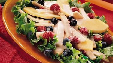 Summer Fruit and Chicken Salad