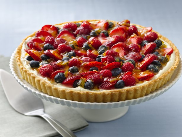 Glazed Berry Tart