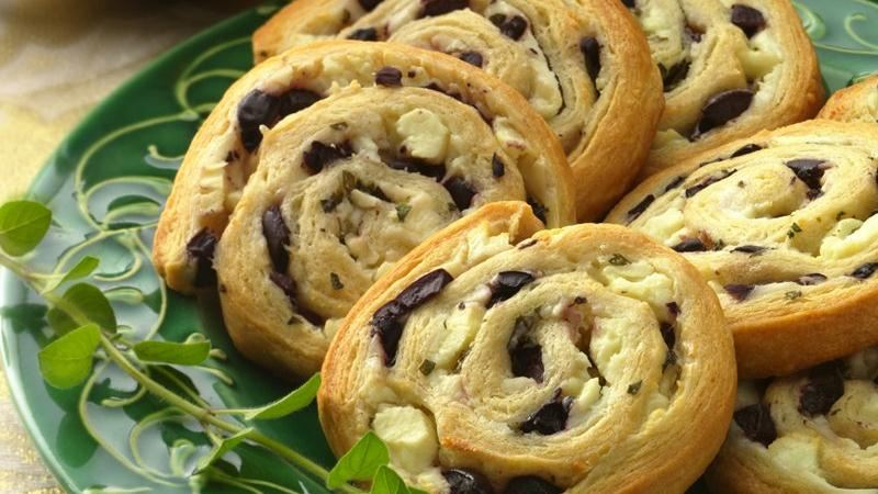 Olive-Feta Pinwheels