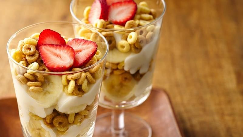 Dulce de Leche Cheerios® Parfaits