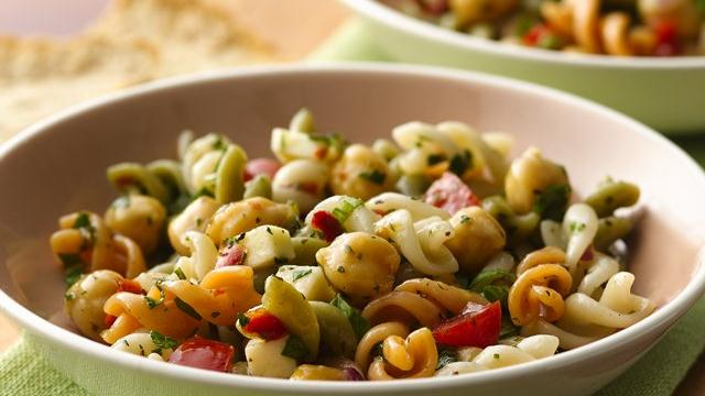 Image of Asiago Cheese-chick Pea Pasta Salad, Pillsbury