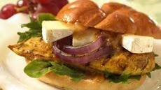 Grilled Chicken, Chutney and Brie Sandwiches Recipe