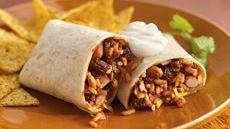 Spicy Mole Pork Burritos Recipe