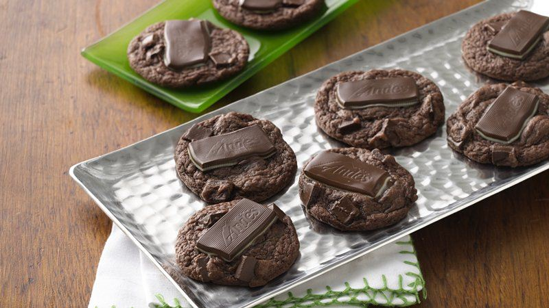 ... cookies double chocolate chunk double chocolate chunk mint cookies