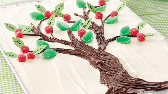 Family Tree Cake