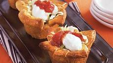 Beef and Black Bean Taco Cups Recipe