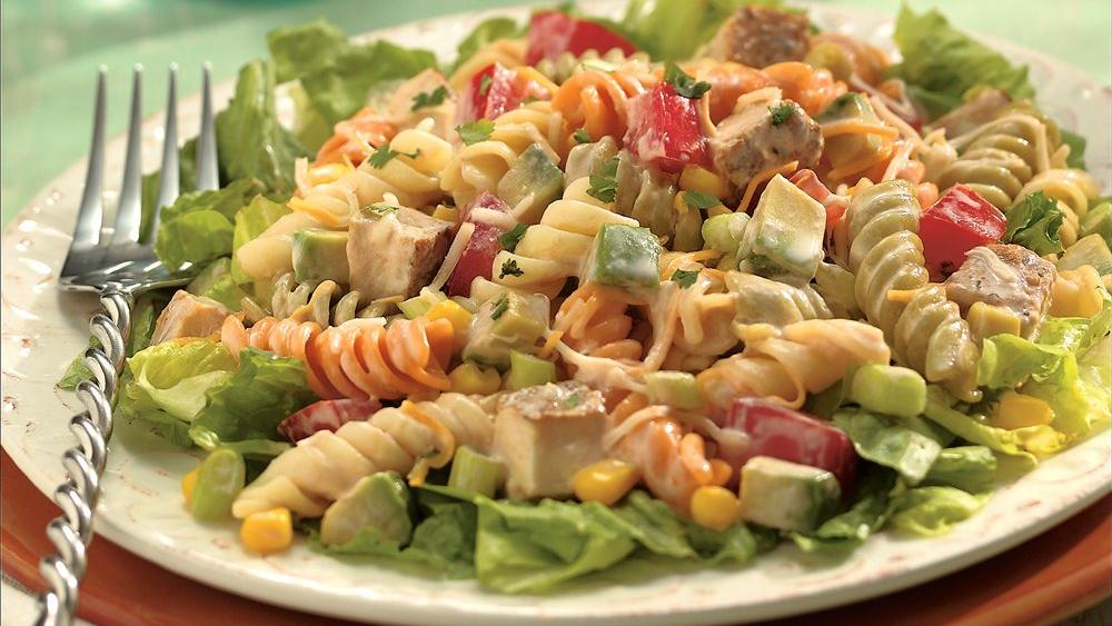 Southwestern Chicken Pasta Salad recipe from Pillsbury.com