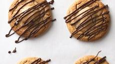 Giant Peanut Butter Zebra Cookies Recipe