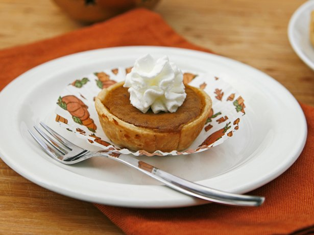 Bourbon-Pumpkin Pie Bites