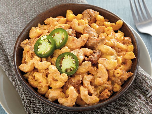 Slow Cooker Mexi Mac and Cheese