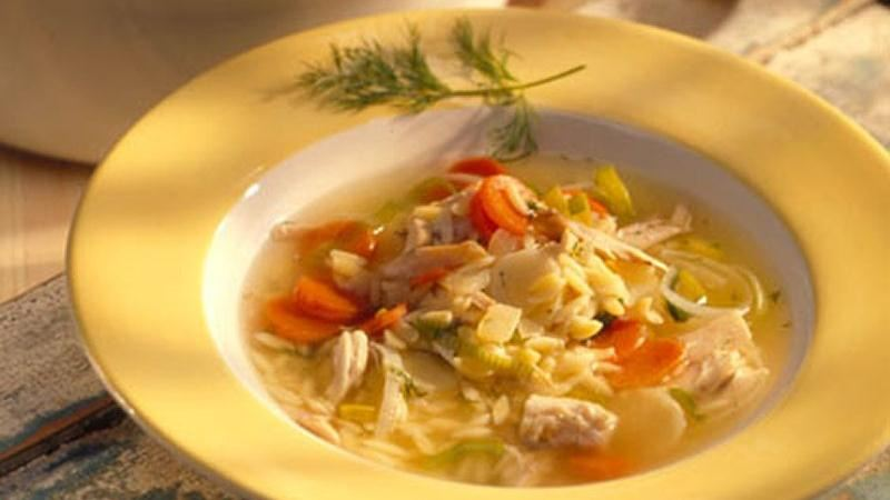 Chicken and Root Vegetable Soup