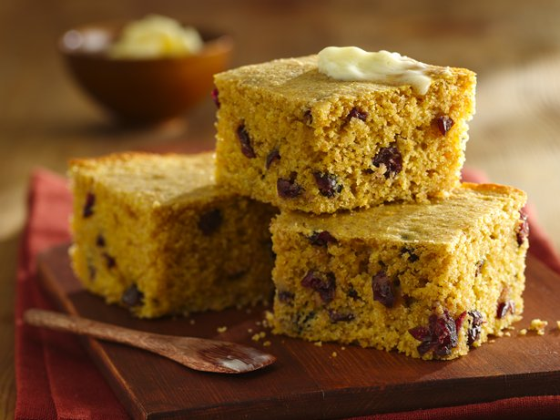 Whole Wheat Maple-Cranberry Cornbread