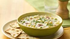 Edamame Corn Chowder Recipe