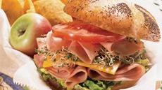 Honey-Mustard Ham Stacks Recipe