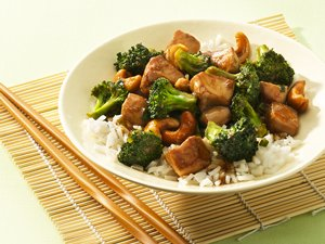 Cashew&#32;Chicken&#32;and&#32;Broccoli