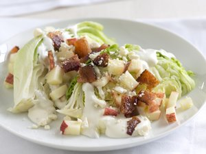 Apple and Bacon Wedge Salads