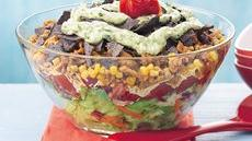 Warm Chicken Taco Salad Recipe